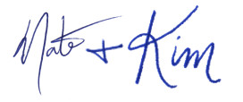 Nate and Kim Signature